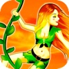 Jungle Jane Swing - Upbeat Physics Vine Swinging Acrobatics Adventure Game HD