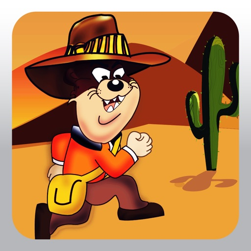 Speedy Rodriguez - Run and Jump over Platforms in the Mexican Desert iOS App