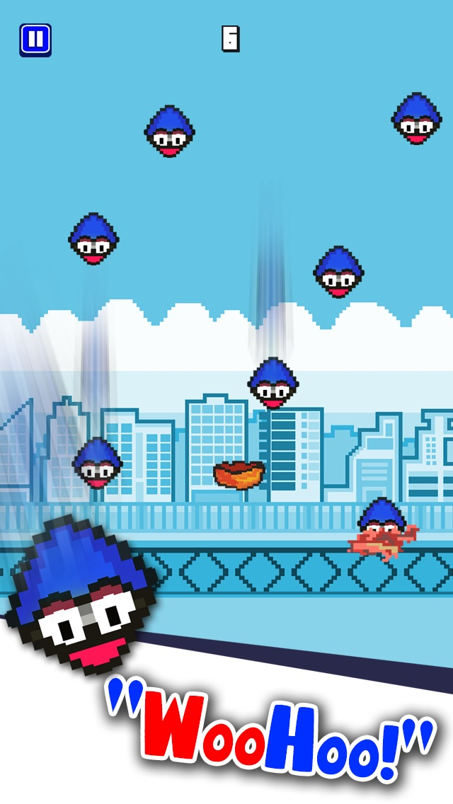 A Flappy No Wings Bachy Hero - Go And Catch Jumpy King Bird 2 Screenshot on iOS