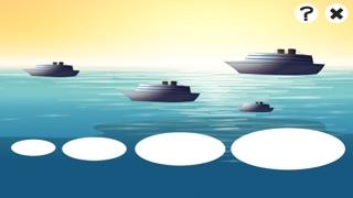 Actif! Jeu de Bateaux et de Navires Pour Les Tout-petits D'apprendre À la Maternelle et École MaternelleCapture d'écran de 4