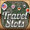 Acme Slots Travel Bingo 777 - With Prize Wheel, Blackjack and Roulette Double Gamble Chip Games