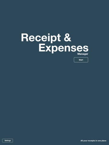 Expenses / Receipt Manager and Tracker for iPad screenshot 4