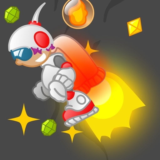 Rocket Man Fly - Jetpack Ride iOS App