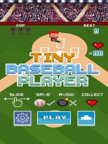 Screenshots of A Tiny Baseball Player - Free 8-Bit Retro Pixel Baseball for iPad