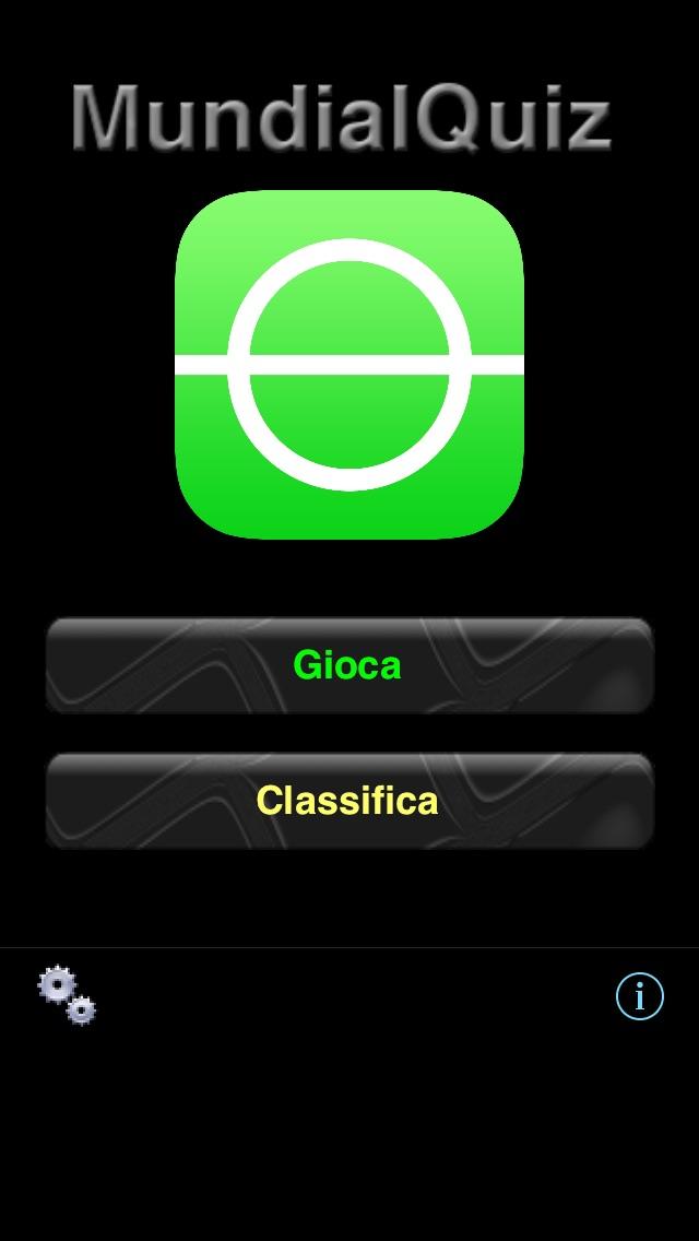 Screenshot of MundialQuiz - Il gioco a quiz sull'evento principale del calcio!1