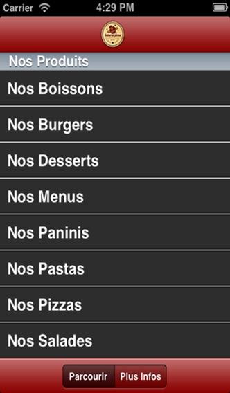 Saturne PizzaCapture d'écran de 2