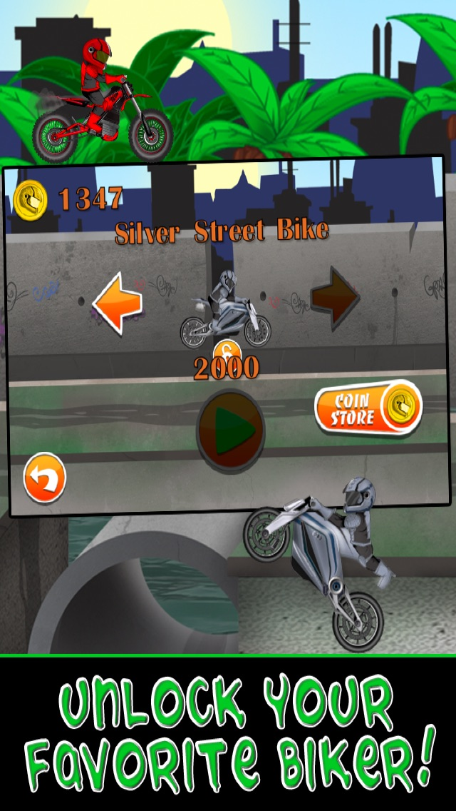 Motorcycle Bike Race Escape : Speed Racing from Mutant Sewer Rats & Turtles Game - For iPhone & iPad EditionСкриншоты 3