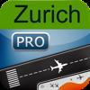Flughafen Zürich + Flight Tracker