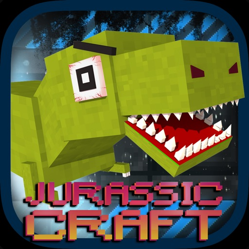Jurassic Craft Dino Hunter - Tuvok Multiplayer With Mine Mini Skins for MC Pocket Remastered Edition