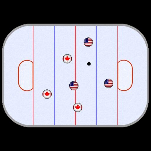 Finger Ice Hockey Game iOS App