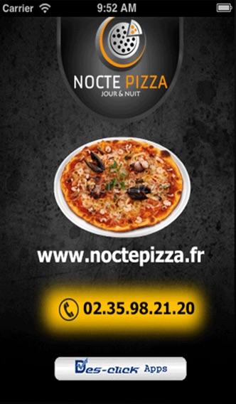 Nocte PizzaCapture d'écran de 1