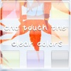 touch the clear colors ~Soothing App with a transparent feeling~
