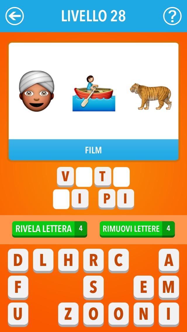 Screenshot of Emoji Quiz Italia ~ Film, TV, personaggi famosi, marche3