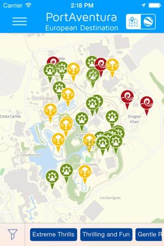 PortAventura - Offline Amusement Park Guide screenshot 1