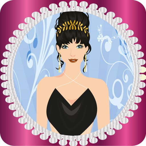 Pretty Lady Dress Up Game iOS App