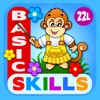 Abby - Basic Skills Preschool: Counting, Letters, Colors, Shapes, Patterns...