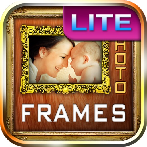 Photo frames. Amazing photo frames for profile pic free iOS App