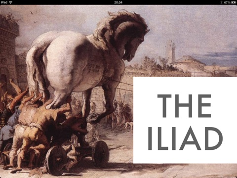 "trojan compassion in the iliad and the aeneid For reasons that scholars still debate today, the iliad ends with the funeral of the trojan prince hector, and never gets to the end of the war (like starship troopers unlike mash) the ""trojan horse"" is mentioned a couple times in homer's follow-up, the odyssey, but most of what we know about it today comes from virgil's shameless iliad."