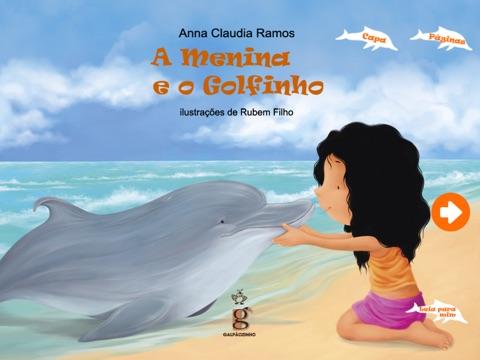 A Menina e o Golfinho - Tablet screenshot 1