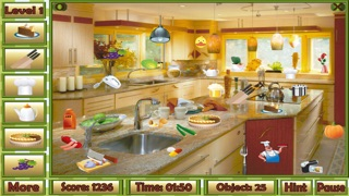 Screenshot of Giochi Oggetti Nascosti Bella Cucina3