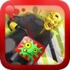 Хэллоуин Супер Mega Galaxy Chase Зомби против мотоцикла Ninja Stunt Ranger Стик Бесплатный гоночный мотоцикл