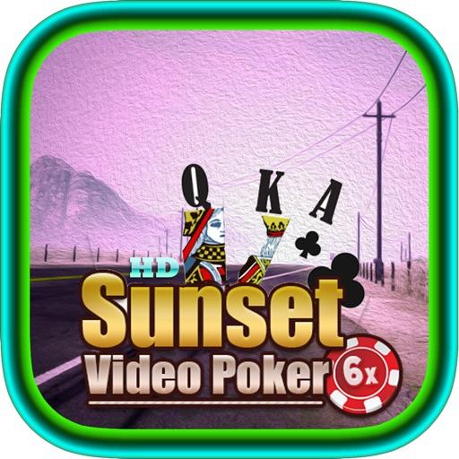 Aces HD Deluxe Poker Club at Sunset Strip Casino – 6 Lucky Bonus Card Gambling Games iOS App