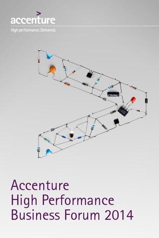 Accenture Business Forum screenshot 2