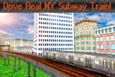New York Subway Train Simulator 3D screenshot 1