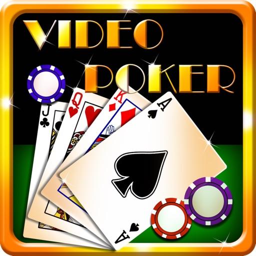 Video Poker Palace Free iOS App