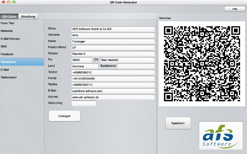 Information about our QR code generator