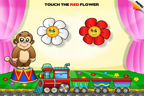 Colors Train • Learning Colors - Interactive Fun Educational Games with Toys, Animals, Cars, Trucks and more Vehicles for Children (Baby, Toddler, Preschool, Kindergarten) Free screenshot 4