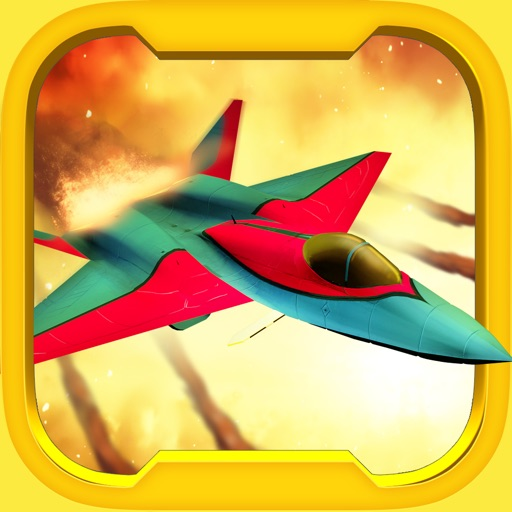 Aerial Dogfight War - Free World War Game iOS App