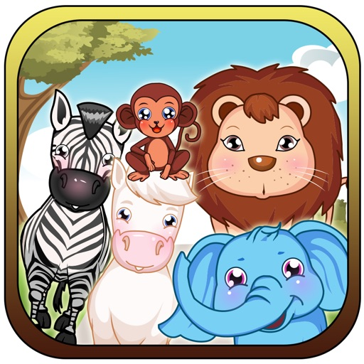 Falling Animals Match - Happy Barn Puzzle Pop Free iOS App
