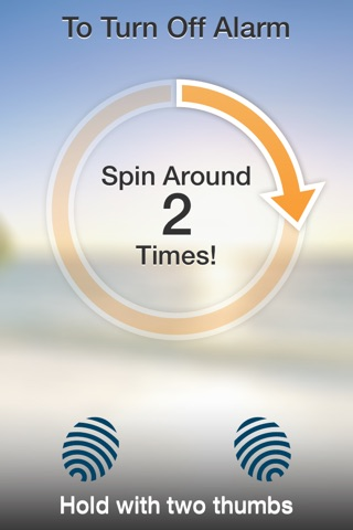 SpinMe Alarm Clock - Guaranteed Wake Up for Deep Sleepers screenshot 2