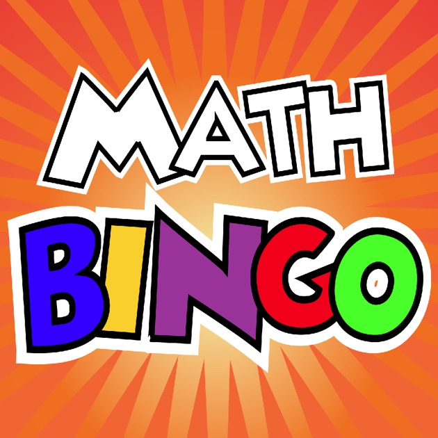 Image result for math bingo