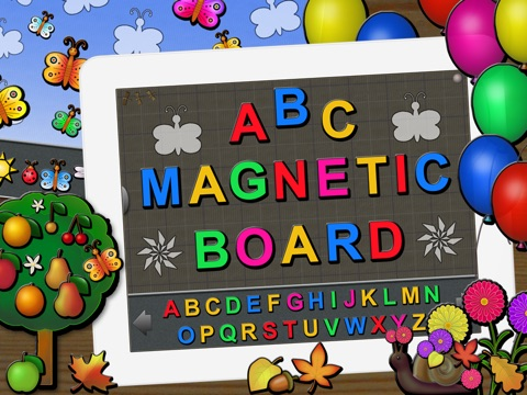 ABC Magnetic Board Plus - Alphabet, Numbers, Shapes, Toys and Animated Fun screenshot 1