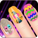Art Nail Salon:Happy Holidays Free-Dress Up Game icon