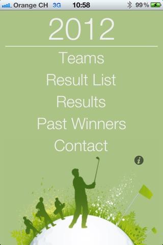 Golf4Companies.ch screenshot 1