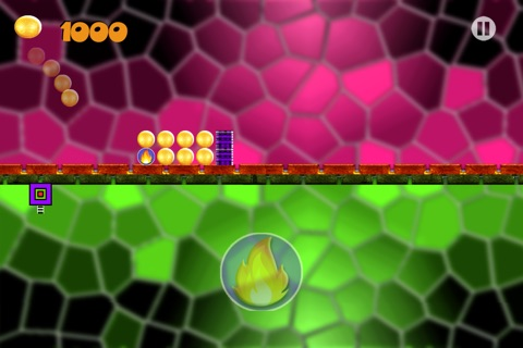 Block Reverse - Geometry Reverse Dash - Don't touch the Spikes Block screenshot 2