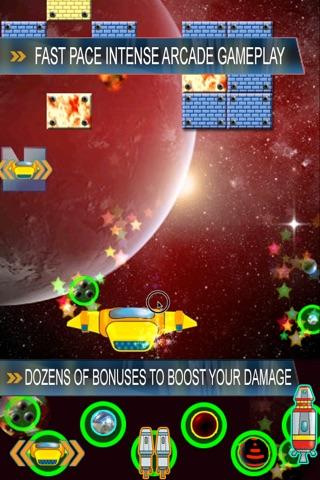Brick Breaker Journey through Space screenshot 2