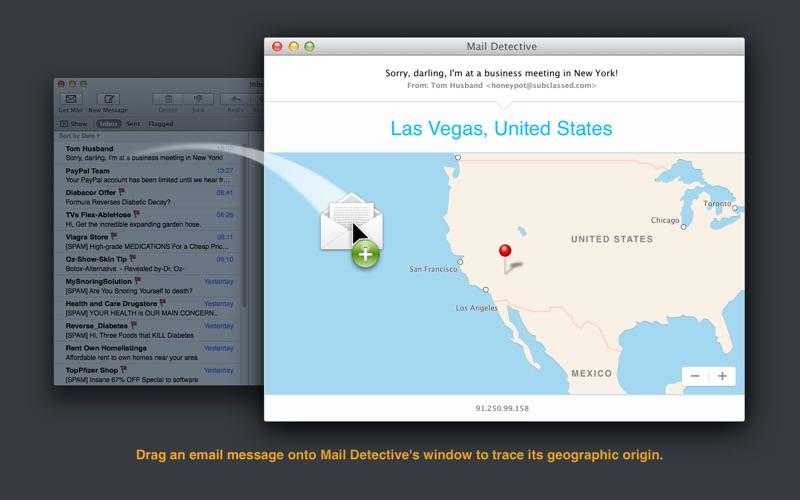 Mail Detective Screenshots