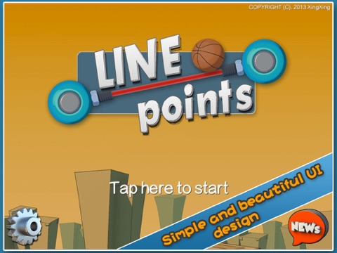 Screenshot #1 for Line Points - Challenge your coordination