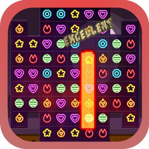 Checkonaut Neon Match iOS App