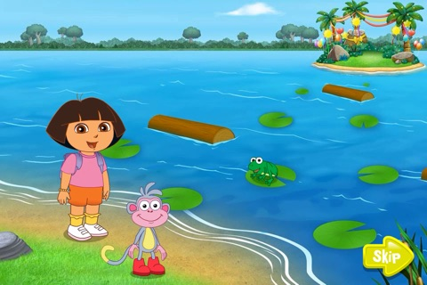 Dora ABCs Vol 3:  Ready to Read! screenshot 1