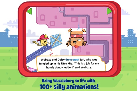 Wubbzy's Fire Engine Adventure screenshot 2