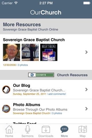 Sovereign Grace Baptist Church, Jacksonville NC screenshot 4