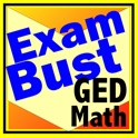GED Math Prep Flashcards Exambusters icon