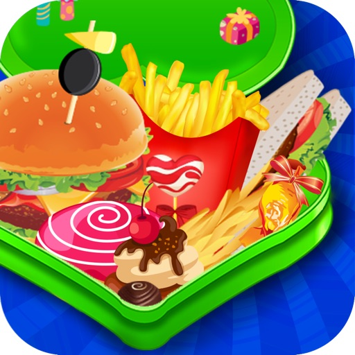 Lunch Box Maker - Make your favorite sandwich, burger, cupcake or candy for your lunchbox iOS App