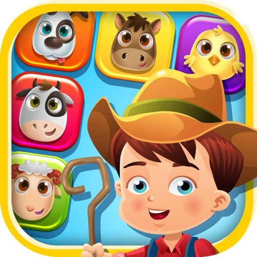 Farm Pet Mania: Rescue the Farm Animals and be a Hero iOS App