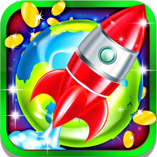 Lost in Space Fire Slot Machine: Big wins and golden prizes iOS App